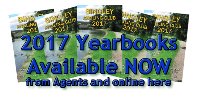 Bingley Angling Club Yearbook covers 2017