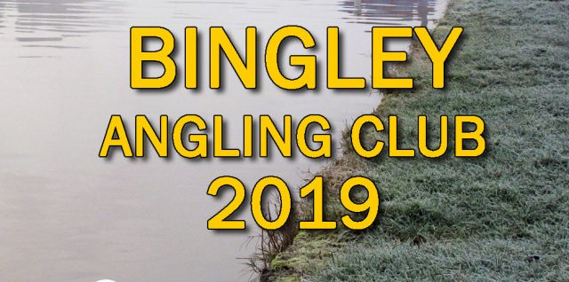 Bingley angling club 2019 yearbook cover