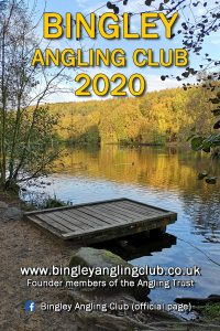 Bingley Angling Club 2020 Yearbook cover